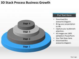 business context diagram 3d stack process growth. Black Bedroom Furniture Sets. Home Design Ideas