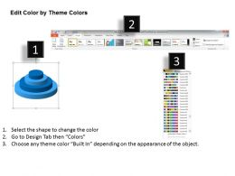 Business Context Diagram 3d Stack Process Growth Powerpoint Templates 0522