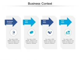 Business Context Ppt Powerpoint Presentation Infographic Template Graphic Images Cpb