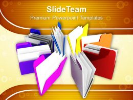 Business Context Presentations Templates And Themes Information Technology Industry