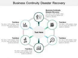 Business Continuity Disaster Recovery Ppt Powerpoint Presentation Styles Example Cpb