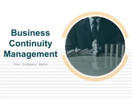 Business Continuity Management Powerpoint Presentation Slides