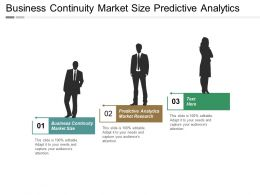 Business Continuity Market Size Predictive Analytics Market Research Cpb