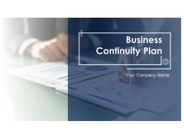 Business Continuity Plan Powerpoint Presentation Slides