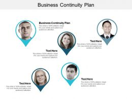 Business Continuity Plan Ppt Powerpoint Presentation File Demonstration Cpb