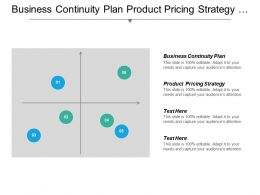 Business Continuity Plan Product Pricing Strategy Sponsorship Advertising Cpb