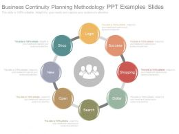 Business Continuity Planning Methodology Ppt Examples Slides
