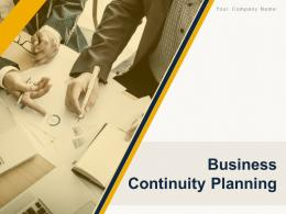 Business Continuity Planning Powerpoint Presentation Slides