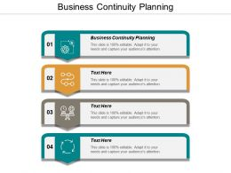 Business Continuity Planning Ppt Powerpoint Presentation File Demonstration Cpb