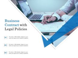 Business Contract With Legal Policies