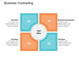 Business Contracting Ppt Powerpoint Presentation File Designs Download Cpb