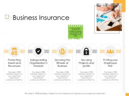 Business Controlling Business Insurance Ppt Information