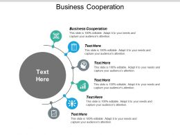 Business Cooperation Ppt Powerpoint Presentation Icon Background Images Cpb