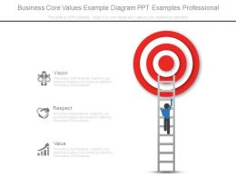 Business Core Values Example Diagram Ppt Examples Professional