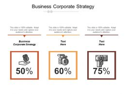 Business Corporate Strategy Ppt Powerpoint Presentation Icon Design Ideas Cpb