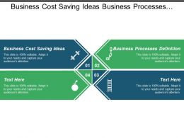 Business Cost Saving Ideas Business Processes Definition Regression Models Cpb