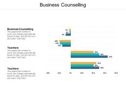 Business Counselling Ppt Powerpoint Presentation Gallery Infographic Template Cpb