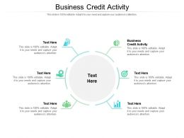 Business Credit Activity Ppt Powerpoint Presentation Icon Aids Cpb