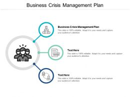 Business Crisis Management Plan Ppt Powerpoint Presentation Styles Deck Cpb