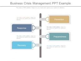 Business Crisis Management Ppt Example
