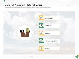 Business Crisis Preparedness Deck Several Kinds Of Natural Crisis Ppt Themes