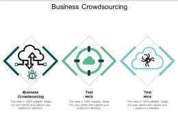 Business Crowdsourcing Ppt Powerpoint Presentation Slides Inspiration Cpb