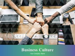 Business Culture Powerpoint Presentation Slides
