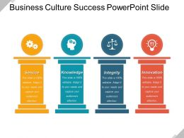 Business Culture Success PowerPoint Slide