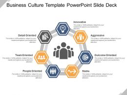 Business Culture Template PowerPoint Slide Deck