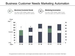 Business Customer Needs Marketing Automation Company Structure Chart Cpb