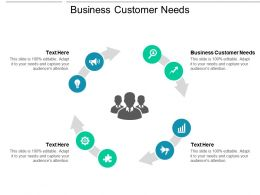Business Customer Needs Ppt Powerpoint Presentation Diagram Templates Cpb