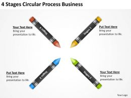 Business Cycle Diagram Circular Process Powerpoint Templates PPT Backgrounds For Slides