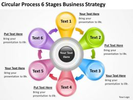 Business Cycle Diagram Stages Strategy Powerpoint Templates PPT Backgrounds For Slides 0515
