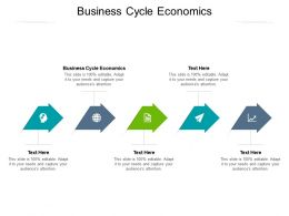 Business Cycle Economics Ppt Powerpoint Presentation Show Good Cpb