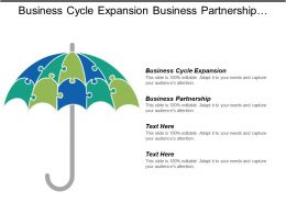 Business Cycle Expansion Business Partnership Diversification Strategies Employee Benefits