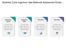 Business Cycle Ingenious Idea Balanced Assessment Employee Layoffs