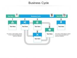Business Cycle Ppt Powerpoint Presentation Outline Shapes Cpb