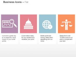 Business Data Analysis Bank Global Process Balance Ppt Icons Graphics