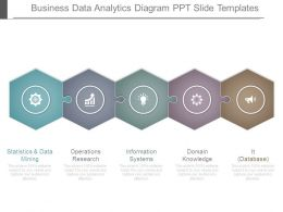 Business Data Analytics Diagram Ppt Slide Templates