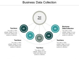 Business Data Collection Ppt Powerpoint Presentation Diagram Images Cpb