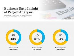 Business Data Insight Of Project Analysis