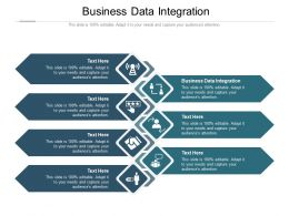Business Data Integration Ppt Powerpoint Presentation Model Inspiration Cpb