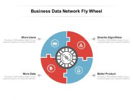 Business Data Network Fly Wheel