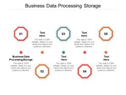 Business Data Processing Storage Ppt Powerpoint Presentation Gallery Layout Ideas Cpb