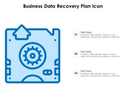 Business Data Recovery Plan Icon