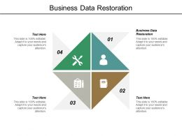 Business Data Restoration Ppt Powerpoint Presentation Inspiration Cpb