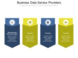 Business Data Service Providers Ppt Powerpoint Graphic Tips Cpb
