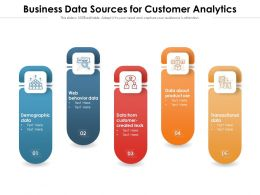 Business Data Sources For Customer Analytics