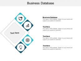 Business Database Ppt Powerpoint Presentation Ideas Graphics Cpb