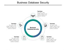 Business Database Security Ppt Powerpoint Presentation Styles Themes Cpb